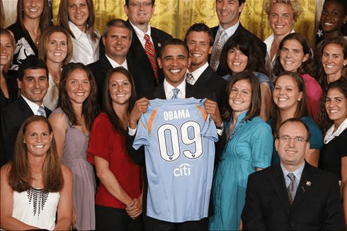 SBFC and Thomas at White House with Obama
